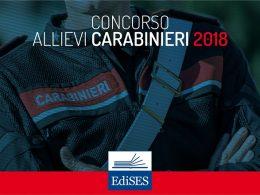 Concorso Allievi Carabinieri 2018: pubblicato il bando, 2000 i posti