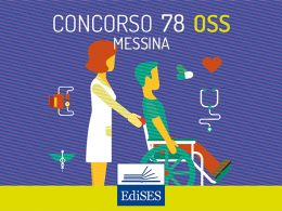 Concorso OSS Messina: bando per 78 posti