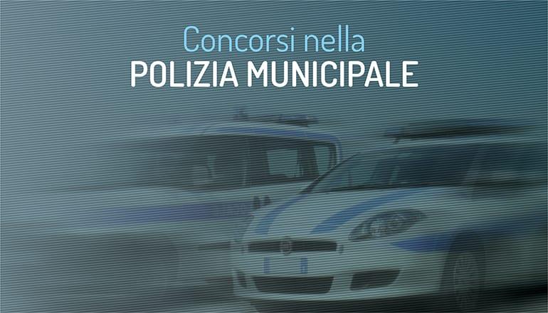 concorsi polizia municipale firenze