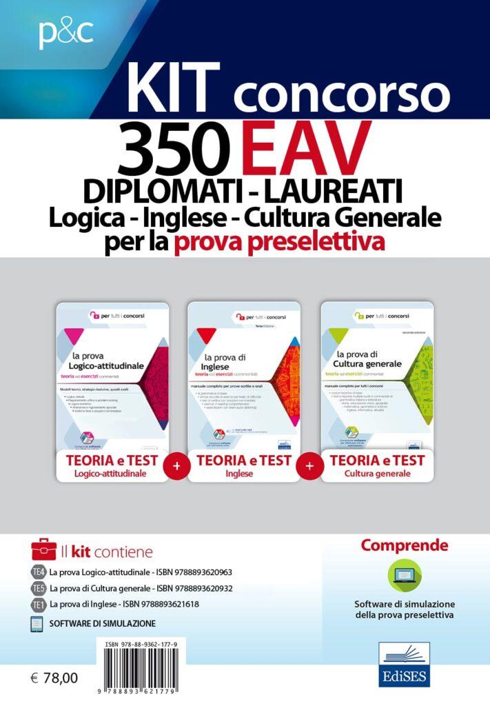 concorso 350 eav