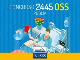 Concorso 2445 OSS Puglia: pubblicate le date della prova orale
