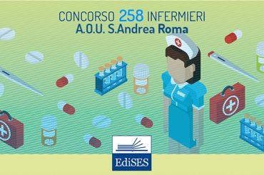 Concorso 258 Infermieri Lazio: pubblicato il bando dell'A.O.U. Sant'Andrea Roma