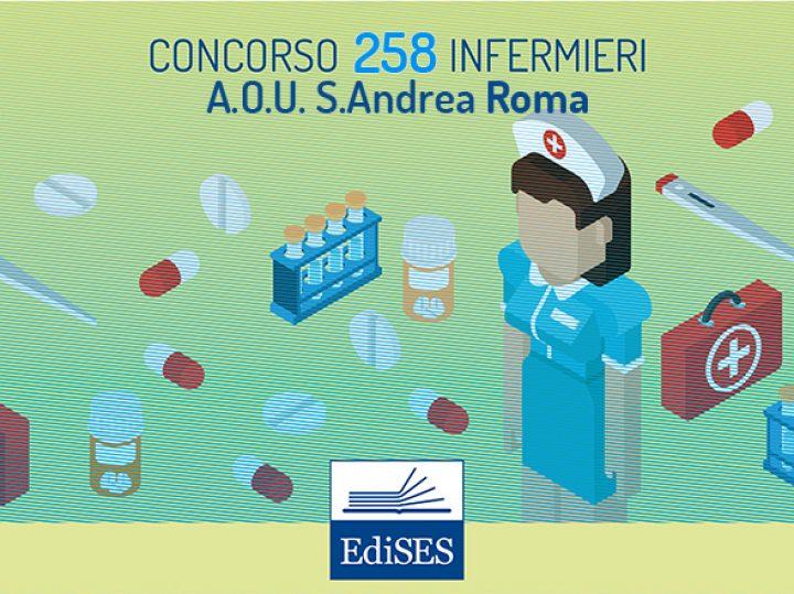 Concorso 258 Infermieri Lazio: pubblicata la delibera dall'A.O.U. Sant'Andrea Roma