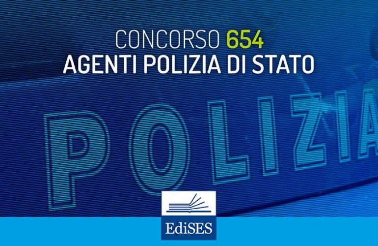 Concorso per 654 Allievi Agenti della Polizia di Stato