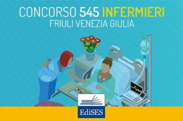 Concorso per 545 infermieri presso gli Enti del Servizio Sanitario del Friuli Venezia Giulia