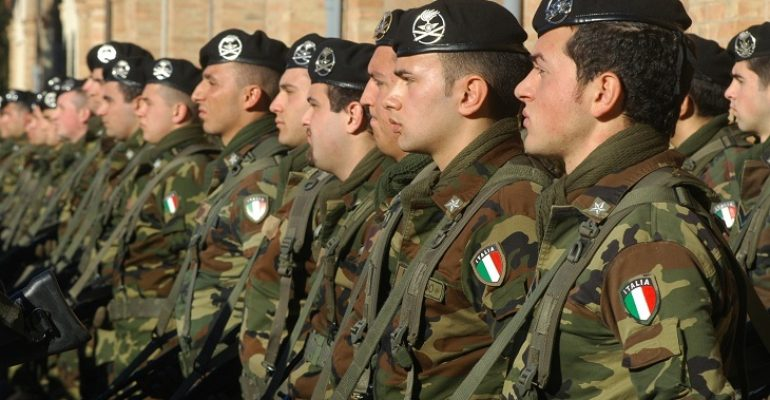 22° corso per 306 Allievi Marescialli delle Forze Armate: pubblicato il bando 2019