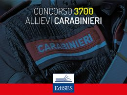 Concorso Allievi Carabinieri 2019 aperto a civili: aumentano i posti disponibili