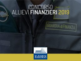 Concorso Guardia di Finanza 2019: bando per 965 allievi finanzieri