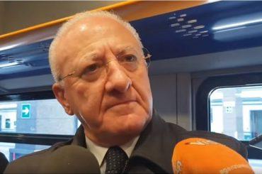 Concorso Regione Campania: De Luca annuncia la pubblicazione del bando a maggio