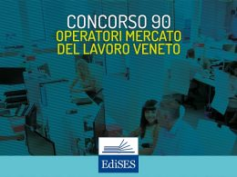 Concorso per 90 operatori del mercato del lavoro presso Veneto Lavoro