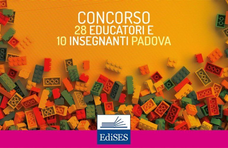 Concorsi per 28 Educatori Asili Nido e 10 Insegnanti Infanzia al Comune di Padova