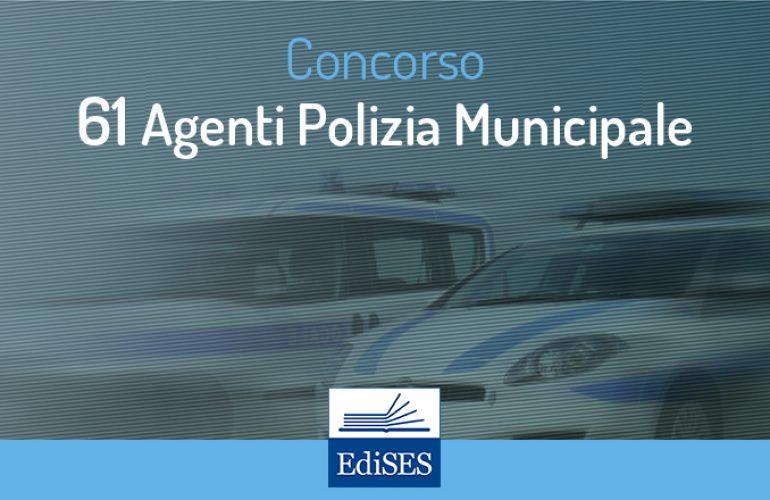 Concorso 61 Agenti Polizia Municipale Pozzuoli – Latina
