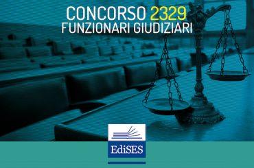 Concorso RIPAM per 2329 Funzionari Giudiziari: pubblicato il bando