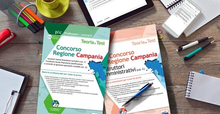 Manuali concorso Regione Campania: cosa studiare per ciascun profilo