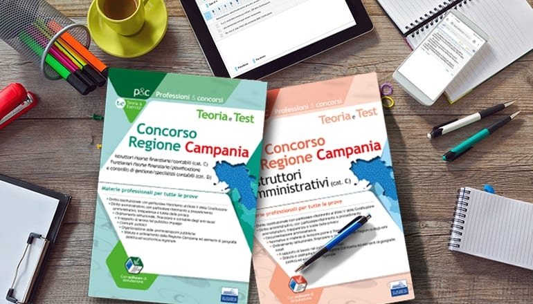 manuali concorso regione campania