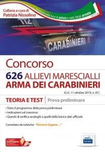 concorso 626 allievi marescialli carabiieri