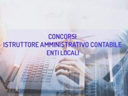 Guida ai concorsi per istruttore amministrativo contabile negli enti locali