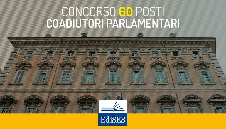 concorso per coadiutori parlamentari