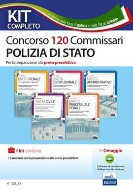 concorso 120 commissari polizia