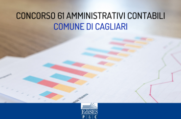 Concorso al Comune di Cagliari: bando per 61 amministrativi contabili