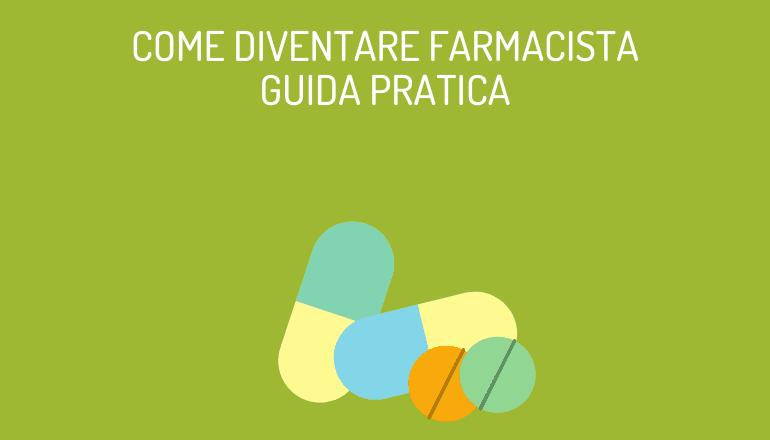 COME DIVENTARE FARMACISTA