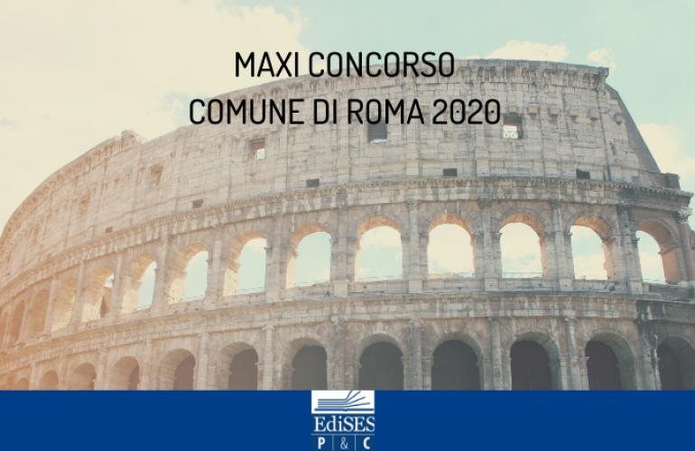 Maxi concorso Comune di Roma 2020: in arrivo oltre 1500 assunzioni