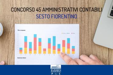 Concorso per 45 Amministrativi Contabili al Comune di Sesto Fiorentino