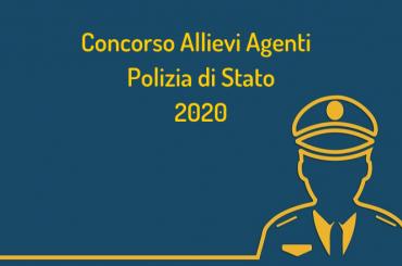 Concorso Allievi Agenti Polizia di Stato 2020: bando per 1.650 posti