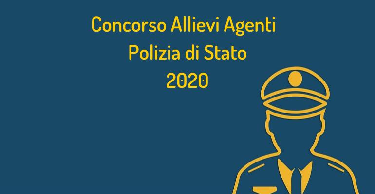 Concorso 1650 Allievi Agenti Polizia di Stato 2020: rinviata la data della prova scritta