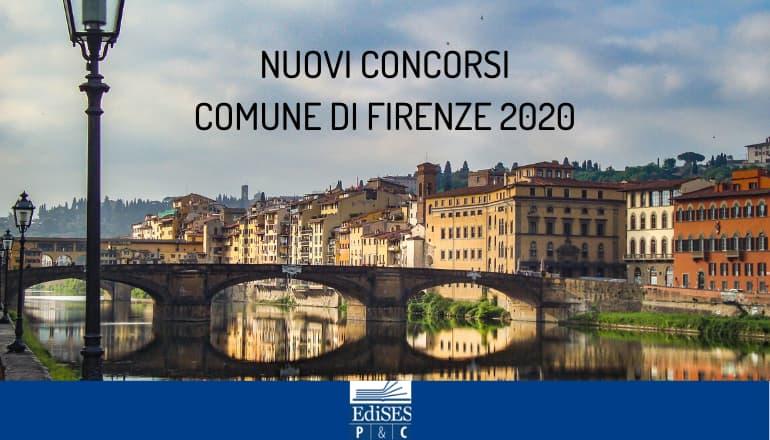 concorsi comune firenze 2020