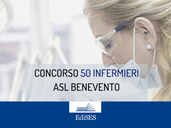 Concorso per 50 Infermieri all'ASL Benevento