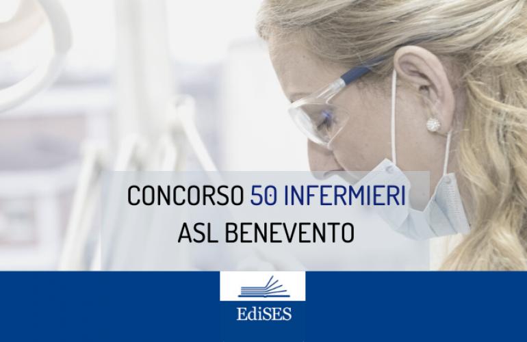 Concorso per 50 Infermieri all'ASL Benevento