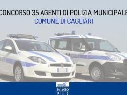 Concorso al Comune di Cagliari: 35 posti come agente di polizia municipale