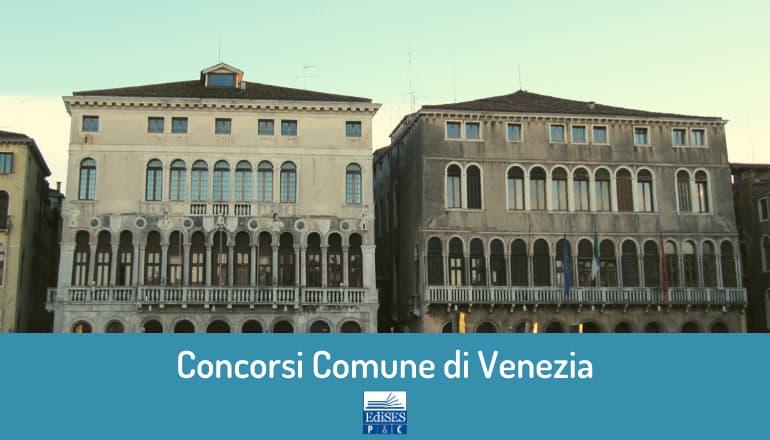 Nuovi Concorsi Comune di Venezia 2020