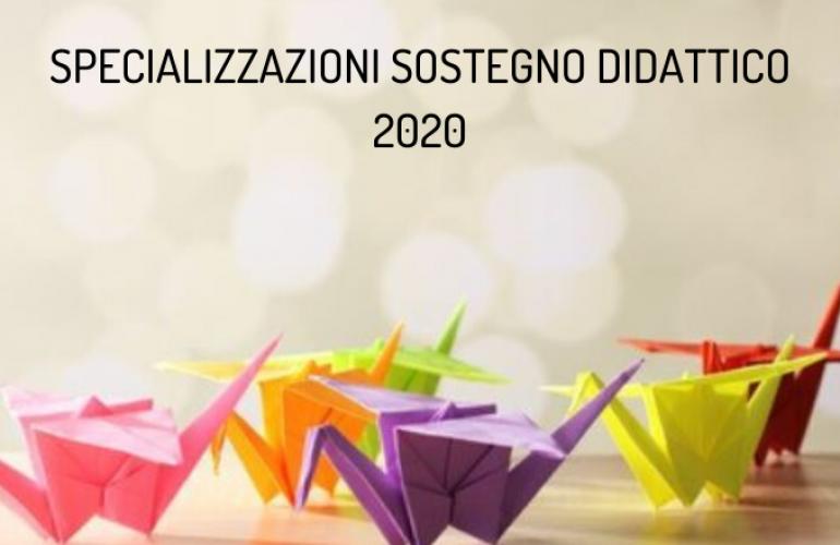 Specializzazioni sostegno didattico 2020: prove rinviate a maggio