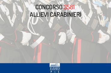 Concorso 3581 Allievi Carabinieri 2020: aggiornamenti sulle prove