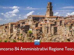 Regione Toscana: concorso per 84 assistenti amministrativi