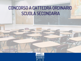 Concorso a cattedra ordinario 2020 scuola secondaria: pubblicata la bozza del decreto
