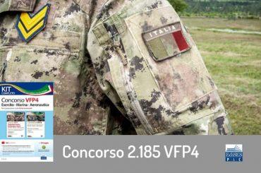 Concorso per 2.185 VFP4