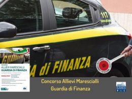 Guardia di Finanza: concorso per 930 allievi marescialli