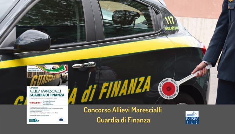 concorso 930 allievi marescialli guardia finanza