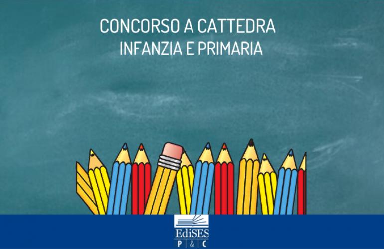 Concorso a cattedra infanzia e primaria 2020: bando per 12.863 posti