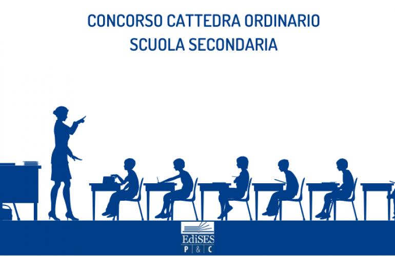 Concorso a cattedra ordinario scuola secondaria: bando per 25.000 posti