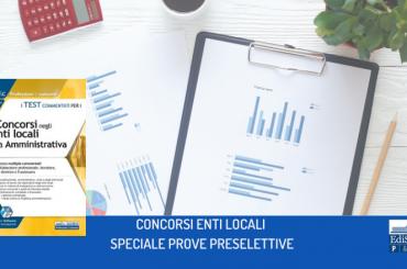 La prova preselettiva dei concorsi negli enti locali e nelle Regioni