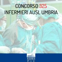Concorso 325 Infermieri AUSL Umbria: pubblicato il bando