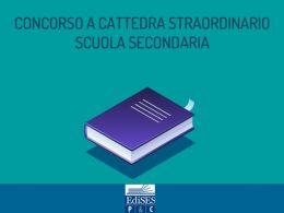 Concorso Scuola Secondaria Straordinario: domande di partecipazione entro il 15 luglio