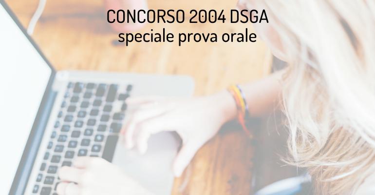 Prova orale concorso DSGA: richiesto lo svolgimento in modalità telematica