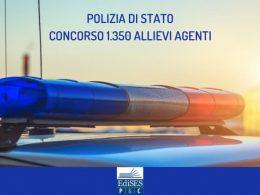 Polizia di Stato: concorso per 1.350 allievi agenti