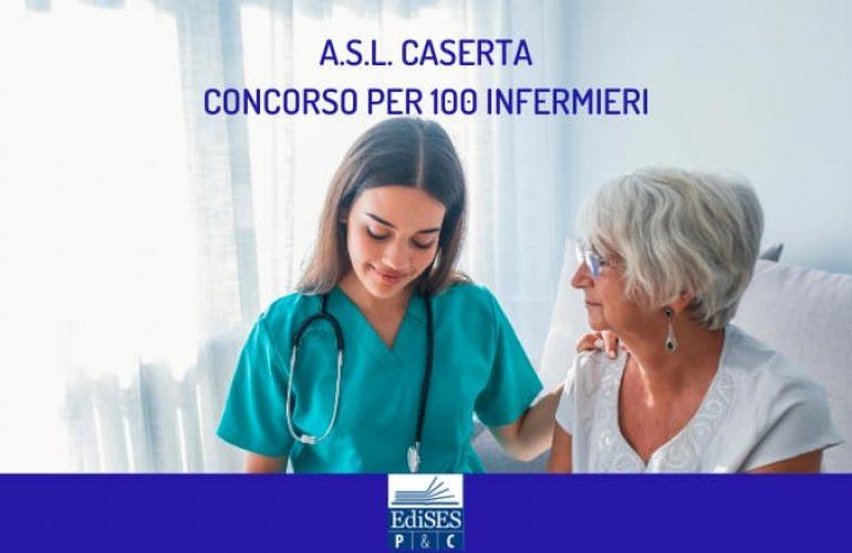 A.S.L. di Caserta: concorso per 100 infermieri