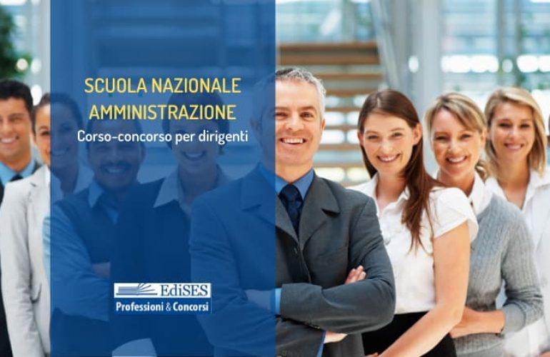Concorso SNA 2020: assunzioni di 210 dirigenti nelle amministrazioni statali